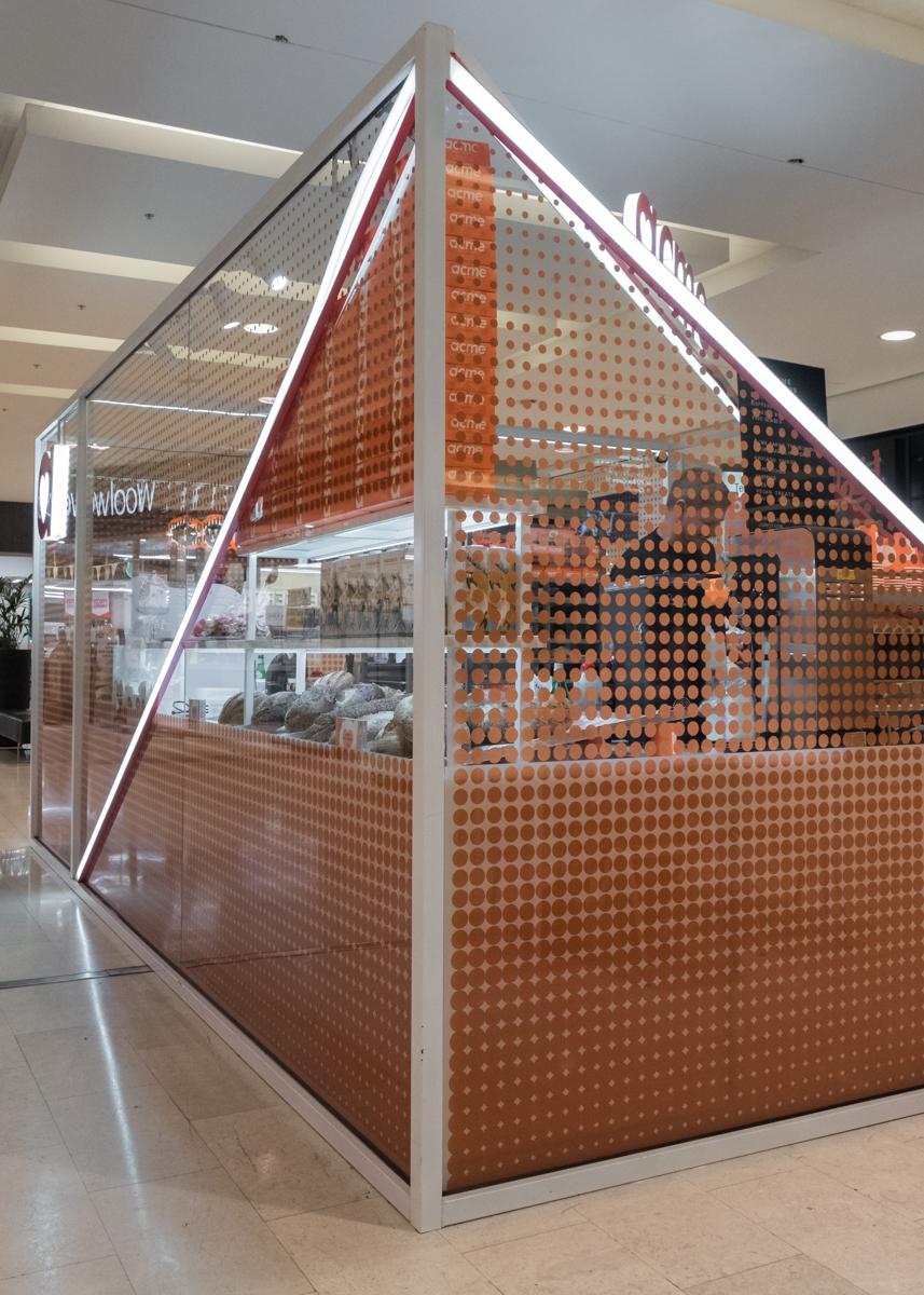 Glass printed shopfront